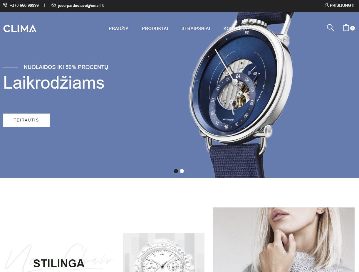 Laikrodžiai (Clima2)